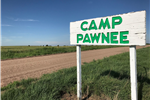 Camp Pawnee in summer